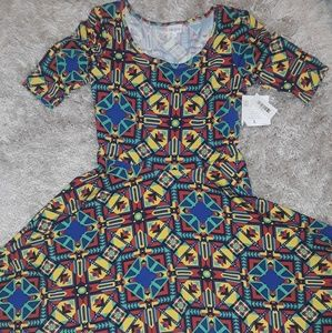 "Lularoe ""Nicole"" Dress"
